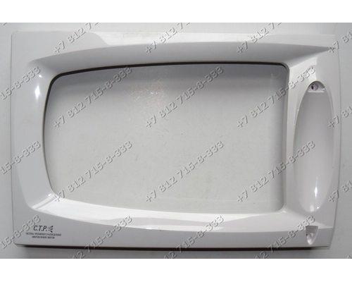 Передняя часть двери СВЧ Samsung M181DN
