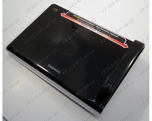 Дверь в сборе с крючком 246*360 мм для микроволновой печи Daewoo KOR-663K KOR663K
