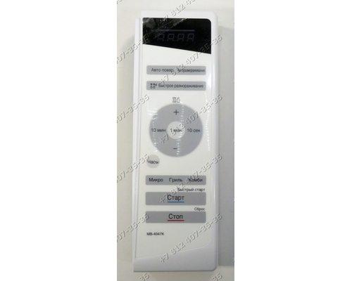 Панель управления в сборе для СВЧ LG MB-4047K MB4047K