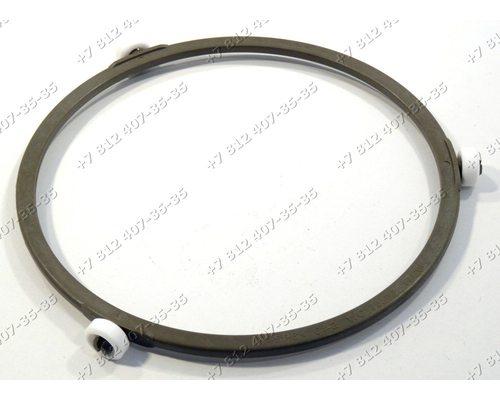 Кольцо вращения для СВЧ-печи BBK 20MWS-773M Диаметр 176 мм, высота колесиков 14 мм