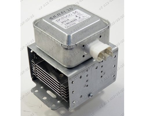 Магнетрон 2M218JF 71011AD HF 900W 2M218HF для СВЧ Daewoo KOR-663K KOR663K