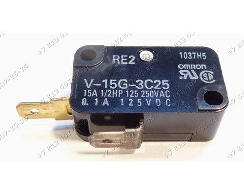 Микровыключатель для СВЧ Panasonic NNSD366M, NN-SD366M
