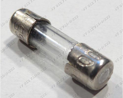 Универсальный предохранитель 0,5A 5*20 мм 2 см в длину для СВЧ