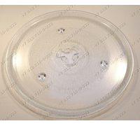 Тарелка для СВЧ Elenberg, Bork, Evgo, Daewoo, Panasonic, Vitek, Candy диаметр 270 мм с креплением под коплер