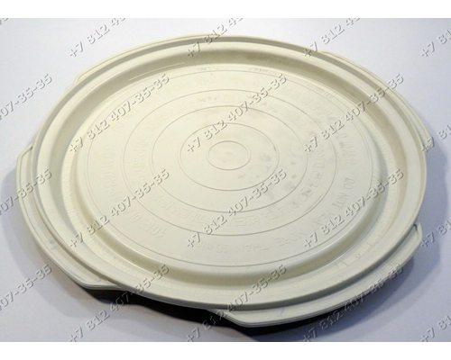 Пластиковый поддон - для приготовления блюд для СВЧ LG MS3448GRK, MS3448XRK, MS3840SRSK, MS3848XRSK, MS3882XRSK