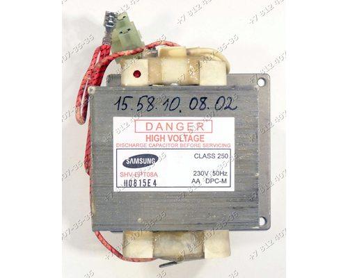 Трансформатор силовой для СВЧ Samsung CE287GNR-D/BWT, CE287MNR-D/BWT, GE107Y-S/XSG, C100R
