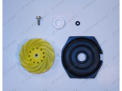Крыльчатка циркуляционной помпы посудомоечной машины Electrolux, Zanussi, AEG 50228466004