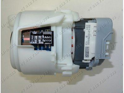 Циркуляционная помпа в сборе с нагревателем для посудомоечной машины Bosch SKS40E22RU/01 SKS40E01RU/01