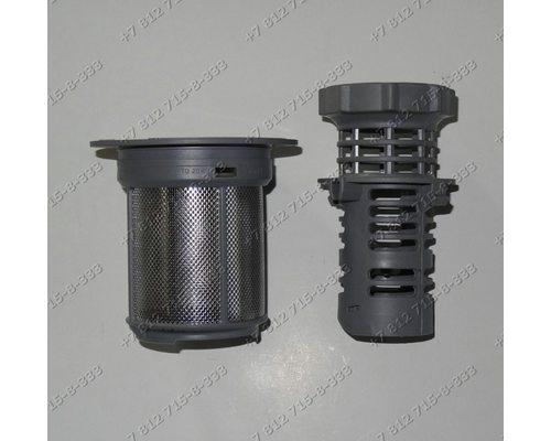 Фильтр в сборе для посудомоечной машины Bosch SRS4302/01 SRS45T62EU/01 SRV4663/01