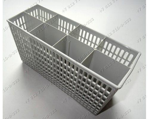 Контейнер для столовых приборов серого цвета для посудомоечной машины