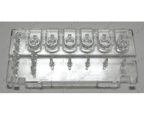 Блок кнопок посудомоечной машины Zanussi DE4944