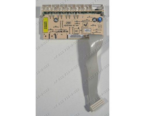 Плата индикации посудомоечной машины Ariston LI48A CISLI460A.C/HA CISLI480A.C CISLI480A.C/HA