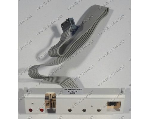 Плата индикации посудомоечной машины Ariston LI48A CISLI480A LI480A LI48A