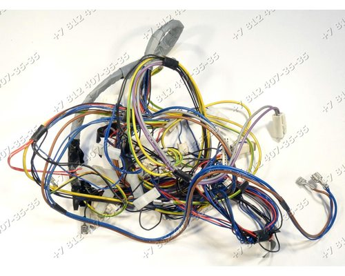 Проводка посудомоечной машины Zanussi ZDS2010 911619282-04