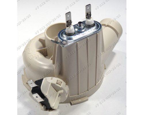 Тэн 1800W, 230V, в сборе с улиткой и микровыключателем, для посудомоечной машины Gorenje