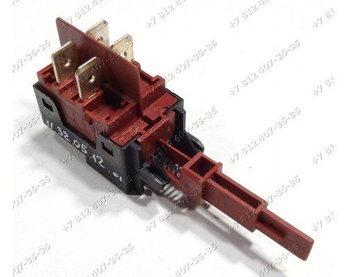 Cетевой выключатель посудомоечной машины Indesit DE43, Ariston LSV61 и т.д.