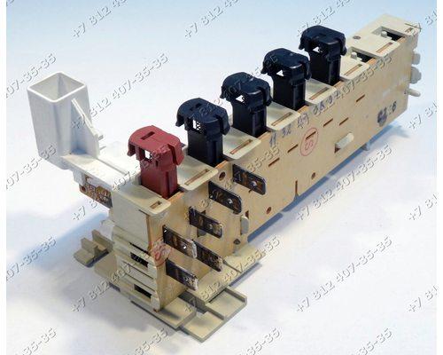 Блок кнопок посудомоечной машины Bosch SPI4436/04 и т.д.