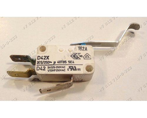 Микровыключатель посудомоечной машины Siemens 027380 и т.д.