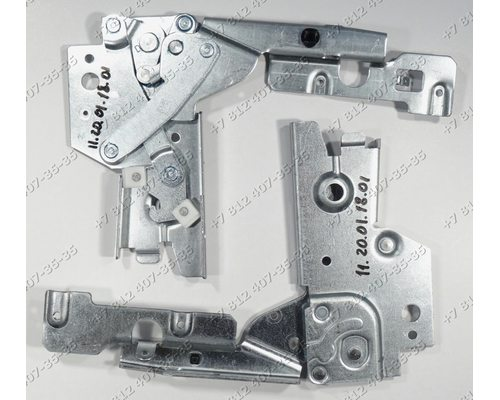 Петля двери комплект посудомоечной машины Electrolux Zanussi AEG 911938606/01 F89020IM 911928634-00
