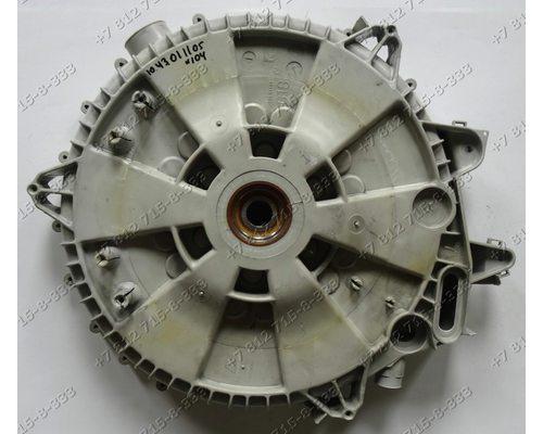 Задняя часть бака   стиральной машины Zanussi FLS 824 CN