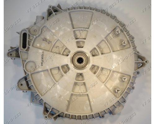 Задний полубак в сборе с подшипниками и сальником для стиральной машины Zanussi FLS876C 914789601-02