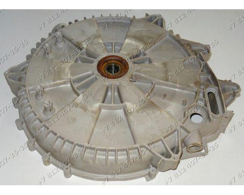 Задний полубак в сборе с подшипниками и сальником для стиральной машины Zanussi FL574CN 914760034-00