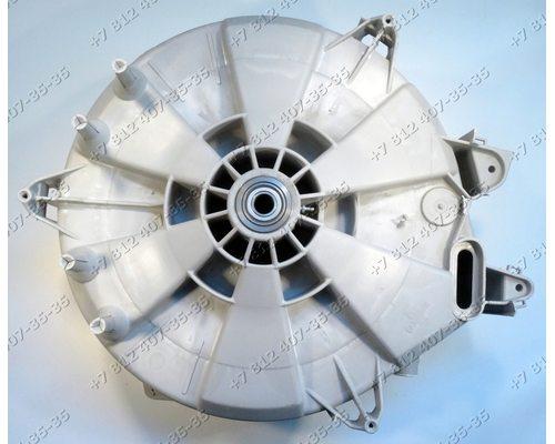 Задний полубак в сборе с подшипниками и сальником для стиральной машины ELECTROLUX: EWF10140W, EWF10240W