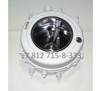 Бак в сборе для стиральных машин Indesit IWSD5085CIS, Ariston ARSD129CIS.L, ARSF105CIS/S и так далее