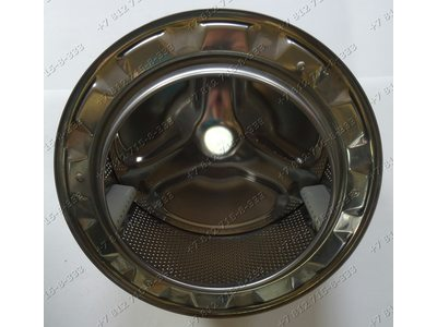 Барабан в сборе с крестовиной и лопастями для стиральной машины Бош WAA16170CE/24