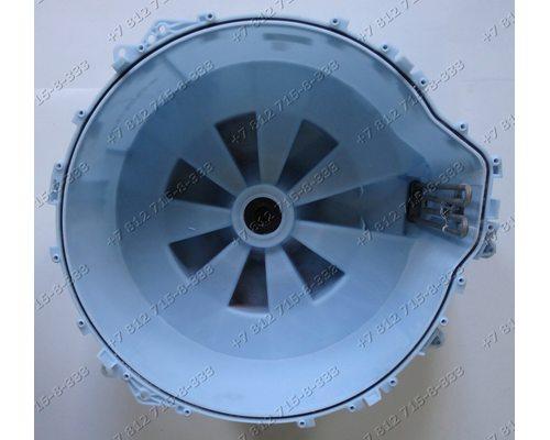 Задний полубак в сборе с подшипниками, сальником для стиральной машины Bosch WAS24743OE/01 Siemens