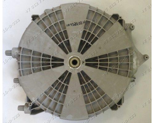 Задняя часть бака в сборе с подшипниками и сальником и уплотнителем стиральной машины Vestel WM840T