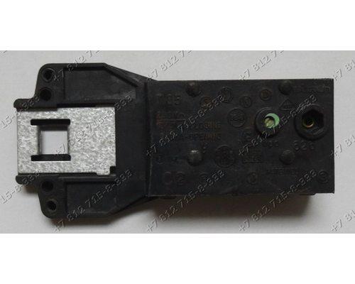 Блокировка люка стиральной машины Indesit WG 1035 TXC R W 83 T EX  WG 835 TXR  Ariston AL 109 X EU