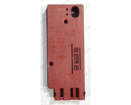 Блокировка люка DS88/T5 57651, 4 контакта стиральной машины Asko D900C02A, Gorenje, Ardo, Whirlpool