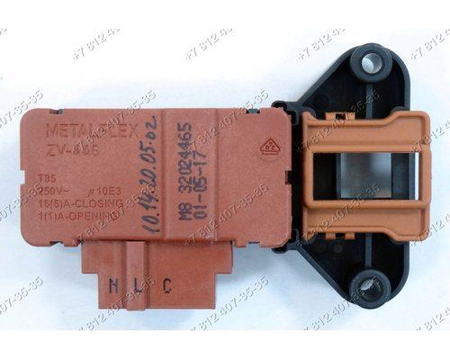 Блокировка люка Metalflex ZV-446 M8 32024465 для стиральной машины Vestel, Schaub Lorenz, Leran