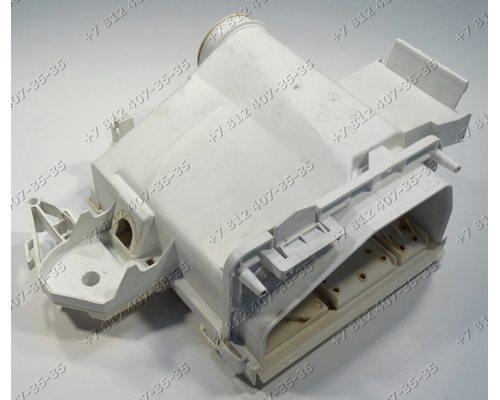 Корпус дозатора в сборе с крышкой 124623605, 12462370 стиральной машины Zanussi ZWS 1020
