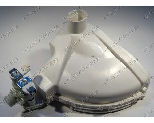 Дозатор порошка в сборе с корпусом и клапаном для стиральной машины Ariston ARUSL105CIS ARUSF1051PL
