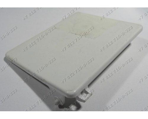 Крышка фильтра слива cтиральной машины Indesit 2296
