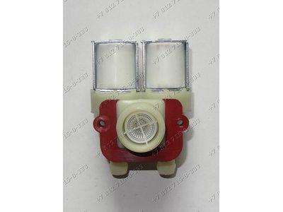 Двойной электромагнитный клапан для стиральной машины Indesit WDN2067WF WDN867WF WDN2296XWU