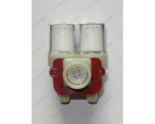 Двойной электромагнитный клапан для стиральной машины Indesit WDN2296XWU