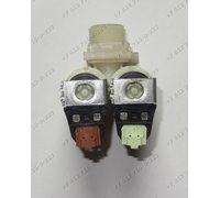 Двойной электромагнитный клапан для стиральной машины Electrolux EWS 8010 W
