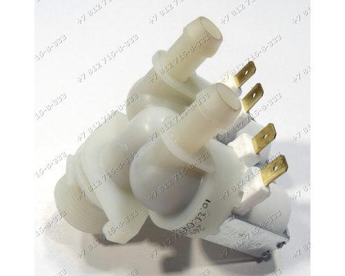 Двойной электромагнитный клапан для стиральной машины Hansa AWN510DR