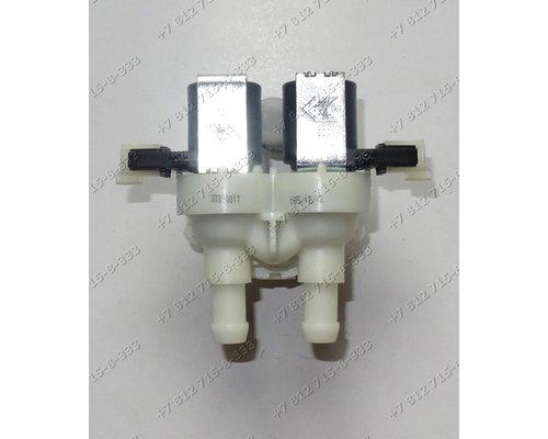 Двойной электромагнитный клапан для стиральной машины Indesit WITL 86 Ariston AVTF 104