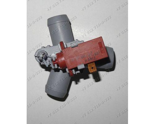 Клапан слив-циркуляции для стиральной машины Hansa PC5580B425 PA5580A520 и так далее