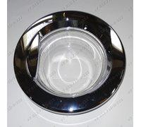 Люк в сборе серебристый для стиральной машины LG 3581ER1009K