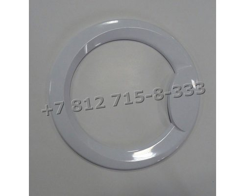 Внешний обод люка для стиральной машины Indesit WISL 103 (CSI)