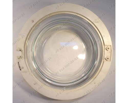 Cтекло люка стиральной машины Ariston AS1047CTX, ALBA4, L53RXT, LINDA57, SG998, W410, WD1001, WTZ730