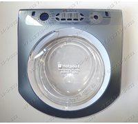 Люк в сборе для стиральной машины Ariston AQSL05UCSI AQSL097URU AQSL09UCIS.L