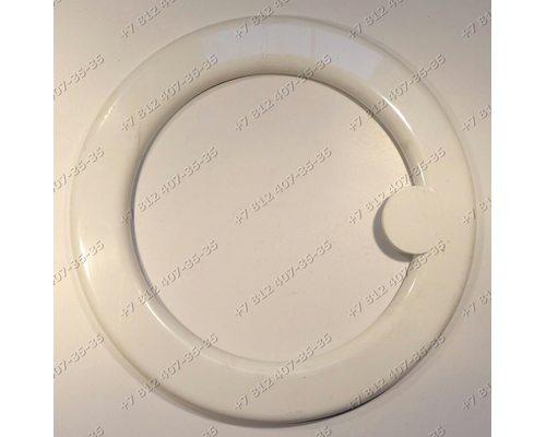 Внешний обод люка стиральной машины Siltal SL348X, Siemens WV10800BY/01, Indesit WS630TXR