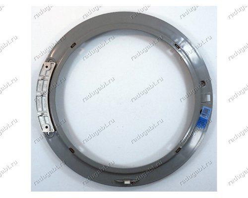 Внутренний обод люка в сборе с петлей для стиральной машины Samsung DC97-14571E - ОРИГИНАЛ!
