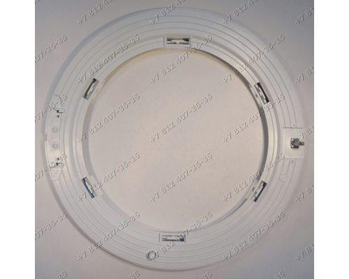 Внутренний обод люка в сборе с крючком стиральной машины Beko 2801800700